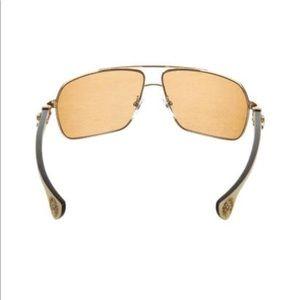 66ef36f0c28 Chrome Hearts Accessories - ⭐  Chrome Hearts Moorehead  Aviator Sunglasses